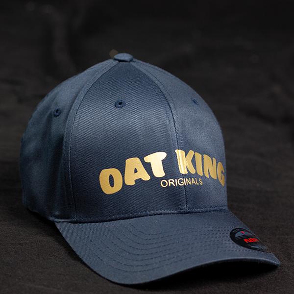 OatKing Cap mit goldenem Schriftzug - vorne