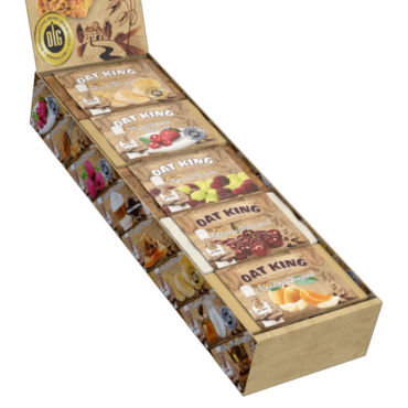 OatKing Display Frucht Mix