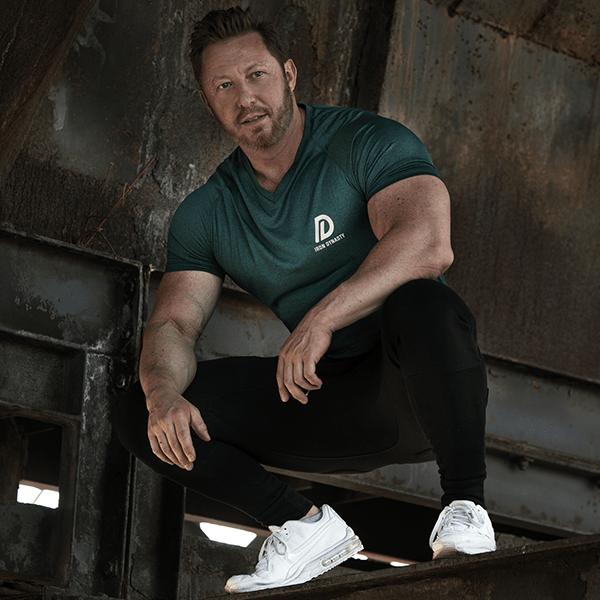 Iron Dynasty T-Shirt Juniper Green