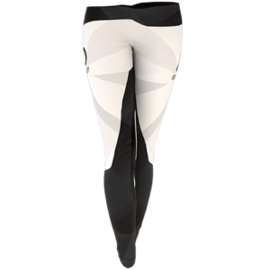 Iron Dynasty Leggins White Frontansicht
