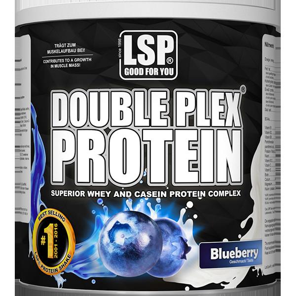 Whey Casein Protein DOUBLE PLEX® - 750 g, Blueberry