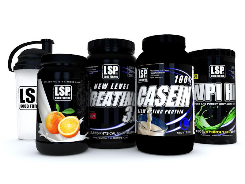 Bestform Bundle für Frauen (Shaker, Whey Protein, New Level Creatin, Casein Protein, Whey Protein Hydrolysat - WPI HD)