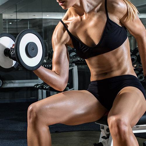 Muskelaufbau Bundle für Frauen